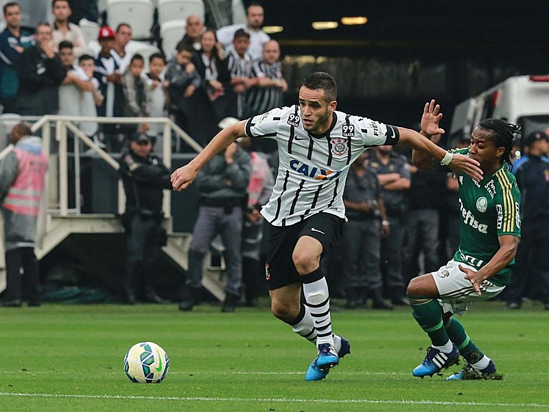 Match between Corinthians and Palmeiras