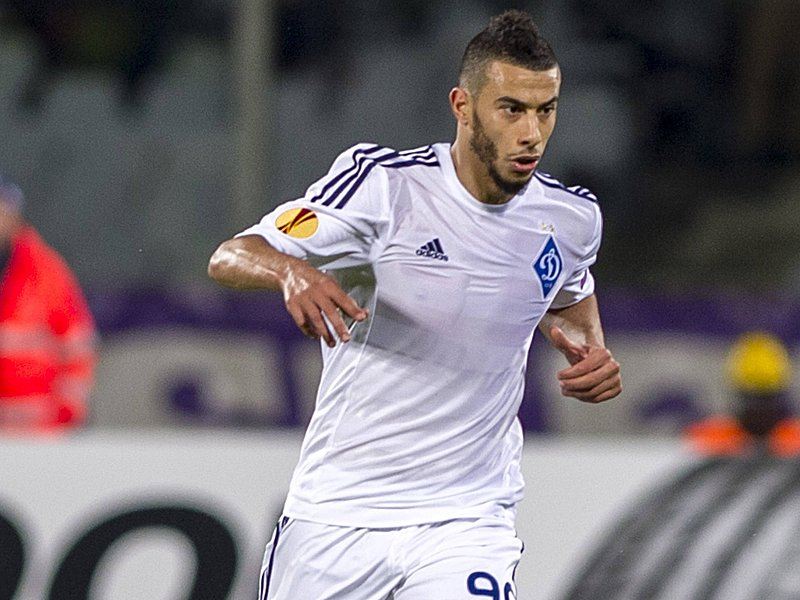 Younes Belhanda (Dynamo Kyiv), APRIL 23, 2015 - Football / Soccer : UEFA Europa League Quarter-final 2nd leg match between ACF Fiorentina 2-0 Dynamo Kyiv at Stadio Artemio Franchi in Florence, Italy. Noxthirdxpartyxsales PUBLICATIONxINxGERxSUIxAUTxHUNxPOLxRUSxSWExFRAxNEDxESPxONLY (ptmb074030) Younes BELHANDA Dynamo Kyiv April 23 2015 Football Soccer UEFA Europe League Quarter Final 2nd Leg Match between ACF Fiorentina 2 0 Dynamo Kyiv AT Stadio Artemio Franchi in Florence Italy NOxTHIRDxPARTYxSALES PUBLICATIONxINxGERxSUIxAUTxHUNxPOLxRUSxSWExFRAxNEDxESPxONLY ptmb074030