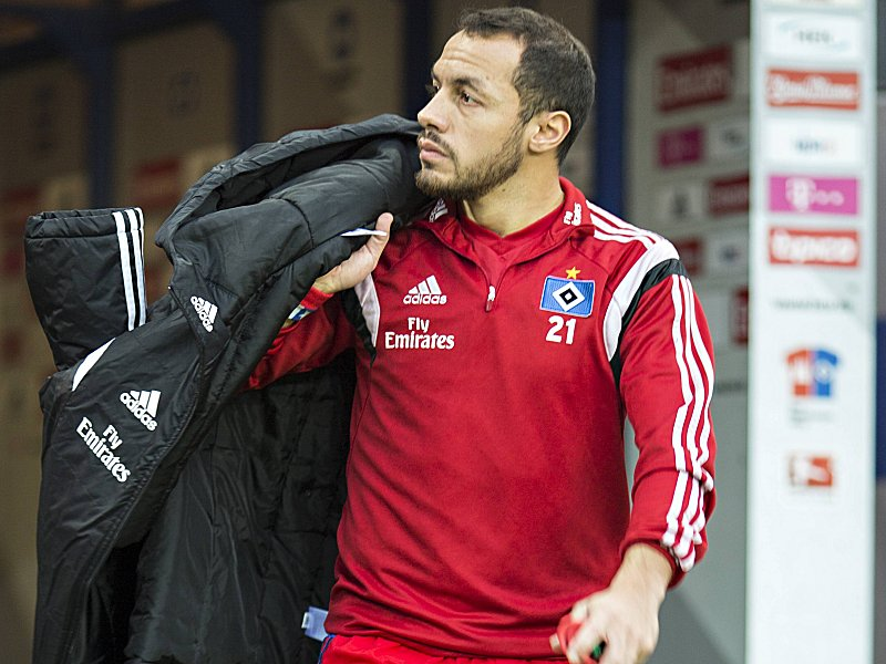 Marcelo Diaz HSV 05 12 2015 Hamburg Hamburger SV vs FSV Mainz 05 Â