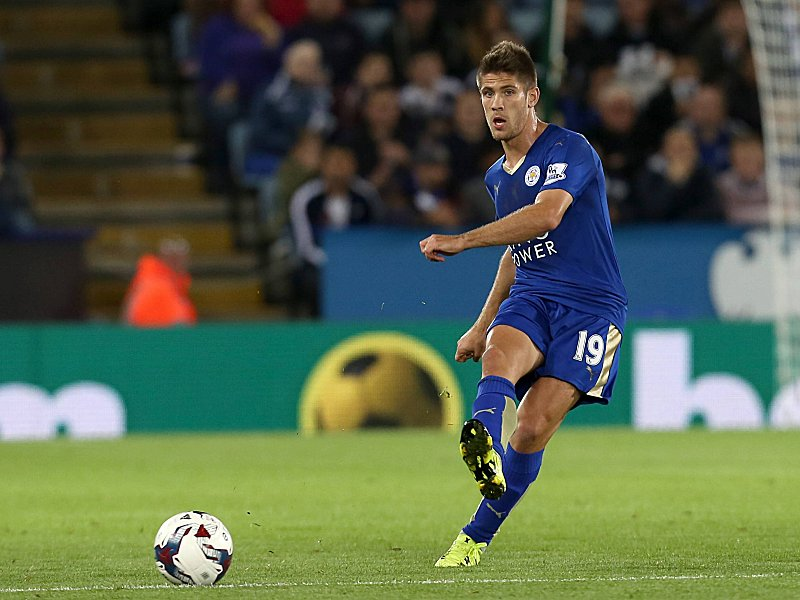 Leicester City s Andrej Kramaric during the Capital One Cup round three match between Leicester City
