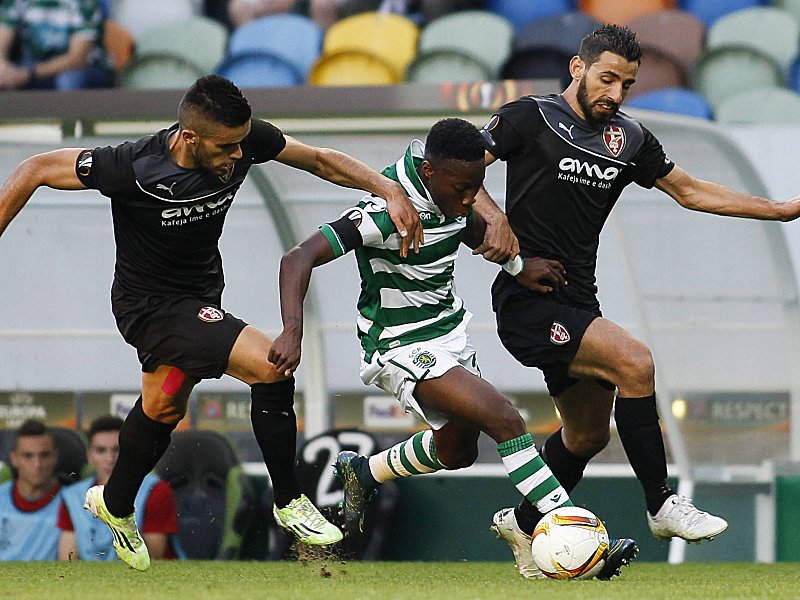 Europa League Sporting Lisbon vs Skenderbeu Lisbon 10 22 2015 The Sporting Clube de Portugal rec