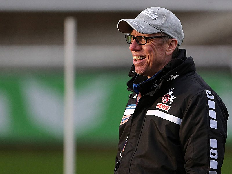 1 FC Köln Training Peter Stöger 14 01 2016