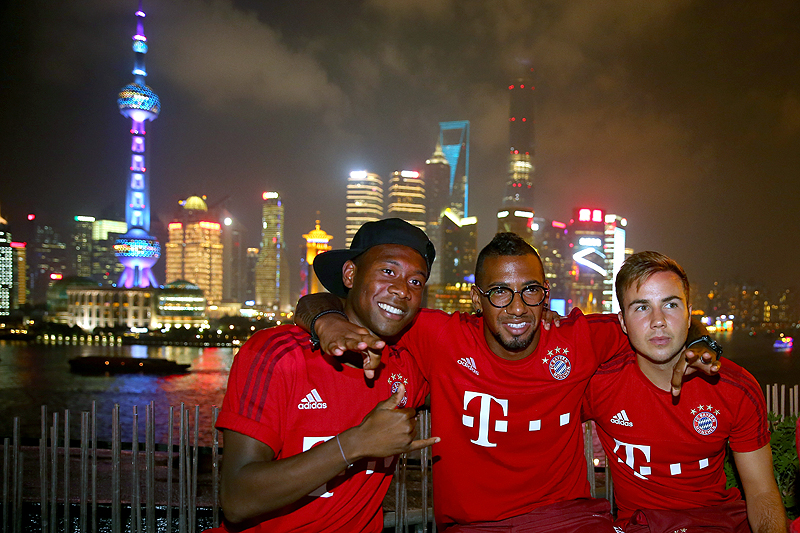 FC Bayern Audi China Summer Tour 2015 - Day 4