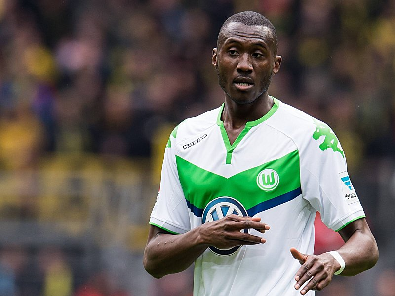 Josuha Guilavogui of VFL Wolfsburg during the Bundesliga match between Borussia Dortmund and VfL Wol