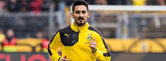 Ilkay Gundogan of Borussia Dortmund during the Bundesliga match between Borussia Dortmund and VfL Wo
