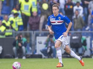 Niklas Moisander Sampdoria OCTOBER 4 2015 Football Soccer Italian Serie A match between UC
