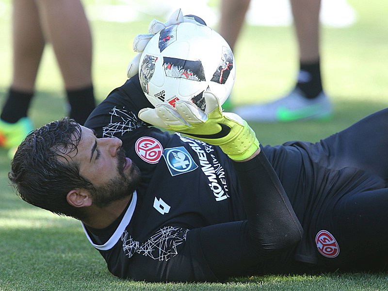 FUSSBALL TL Saint Vincent 01 08 2016 Trainingslager des 1 FSV Mainz 05 Gianluca Curci