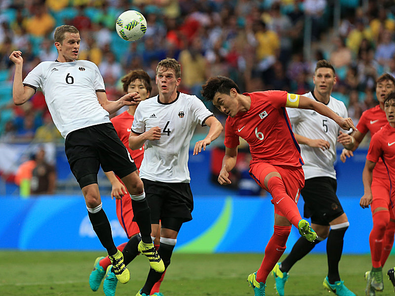Germany v Korea Republic: Men's Football - Olympics: Day 2