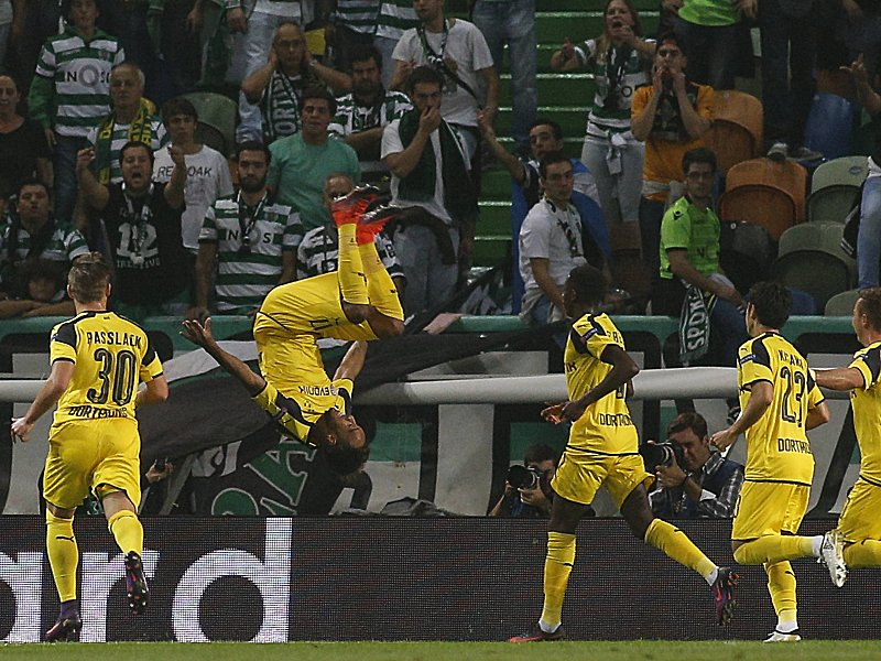 Champions League Sporting Lisbon vs B Dortmund Lisbon 18 10 2016 The Sorting CP received tonight