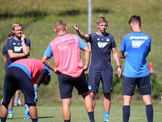 Fuflbal TSG 1899 Hoffenheim Trainingseinheit am 23 08 2016 xmdx Julian NAGELSMANN Trainer 1899 H