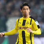 BREMEN, GERMANY - JANUARY 21:  Shinji Kagawa of Dortmund in action during the Bundesliga match between Werder Bremen and Borussia Dortmund at Weserstadion on January 21, 2017 in Bremen, Germany.  (Photo by Stuart Franklin/Bongarts/Getty Images)