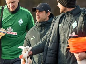 GER 1 FBL Training Werder Bremen 12 01 2017 Trainingsgelaende Bremen GER 1 FBL Training Werde
