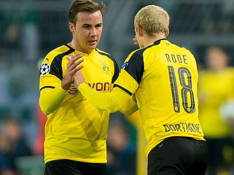 Dortmund Germany 02 11 2016 UEFA Champions League 2016 17 Season Group F Matchday 4 BV Borus