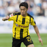 BERLIN, GERMANY - MARCH 11: Shinji Kagawa of Borussia Dortmund in action during the Bundesliga match between Hertha BSC and Borussia Dortmund at the Olympiastadion on March 11, 2017 in Berlin, Germany.  (Photo by Alexandre Simoes/Borussia Dortmund/Getty Images)