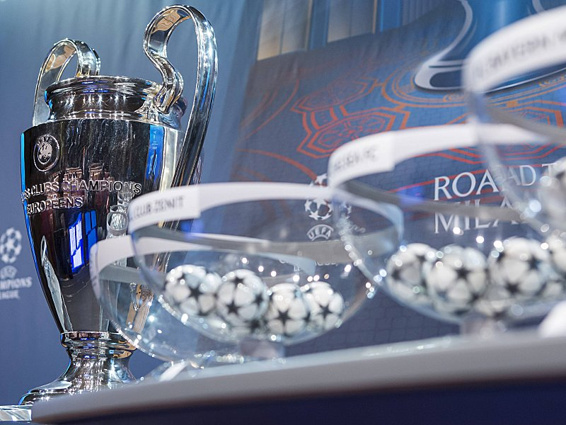 Nyon 14 12 2015 Fussball Auslosung Champions League Feature Auslosung Champions League PUBLICATI